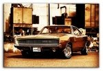 Reproduktion G92901  DODGE CHARGER 60X90