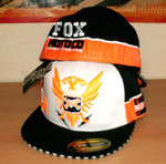 FOX Racing Reissue Motocross Enduro Base Cap Hat Mütze Black NEU KTM Flexfit S/M